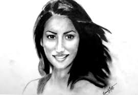 pencil sketch of actress yami gautam desipainters com