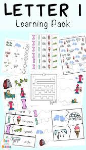 letter i activities for preschool kindergarten pack fun with mama