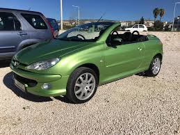 peugeot cabriolet peugeot 206 cabriolet 1 6 automatic david mitchell u0027s motor store