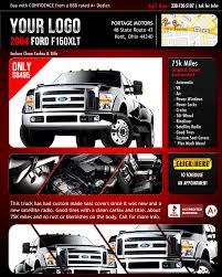 flyer template for car dealer u2013 silhouette decor studios raymendy