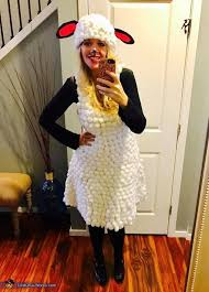 sheep costume diy sheep costume