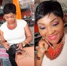 naigerian actresses hairstyles nigerian actress mercy aigbe debuts short hairstylenaijagistsblog