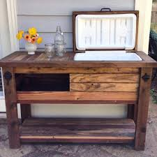 coffee table with cooler reclaimed barnwood bar cart cooler cabinet wine bar console