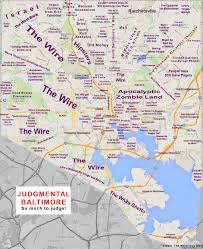 Map Of San Diego Neighborhoods by Judgmental Maps Baltimore Md By The Notorious Dgd Copr 2014 The