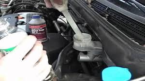honda crv brake 2002 honda crv ex brake fluid change how to