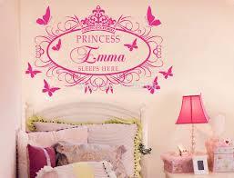 stickers chambre fille princesse sticker mural enfant top sticker mural papillon d dco chambre