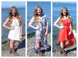 how to wear cowboy boots with dresses seattle stylista