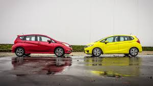 comparison test 2015 honda fit vs 2015 nissan versa note