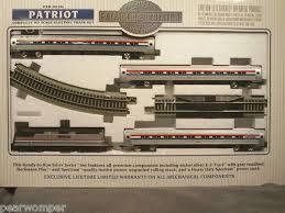bachmann ho scale silver series amtrak patriot e z track system