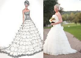 illustrative moments custom bridal portraits weddings illustrated
