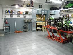 Racedeck Garage Flooring Cleaning by Garage Shop Tour Motorcycle How To And Repair