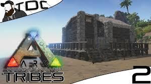 ark survival evolved base building seaside cabin episode 2