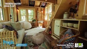 tree house with little kitchen and loft grace vanderwaals