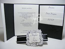 folding wedding invitations folding wedding invitations with pockets 8545
