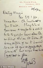 passionate love letters that married poet sir john betjeman sent