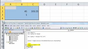 excel vba range selection offset the complete guide to ranges