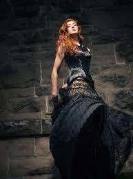 black wedding dresses for alternative brides misfit wedding