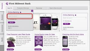 Planters Online Banking by First Midwest Bank Internet Online Banking Sign In Login Banking