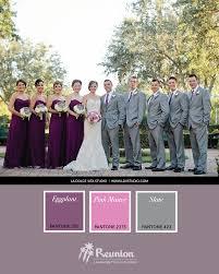 wedding color palette purple pink u0026 gray reunion resort