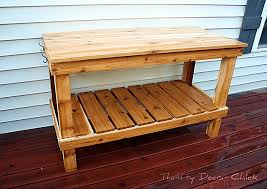 Wooden Potting Benches 10 Free Potting Bench Plans