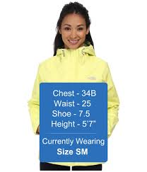 the north face venture jacket hamachi yellow womens clothing coats