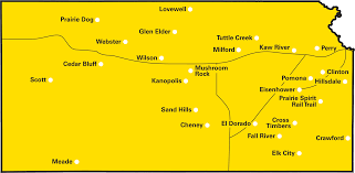 Map Of Ks Bcbsks News Healthy Fun At The State Parks Day