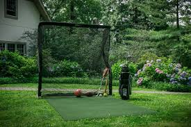 diy golf net anyone else built one talk the sand trap pics with
