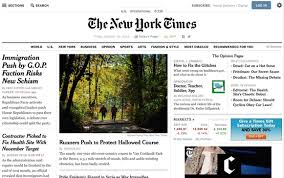 the new york times has new york times redesign