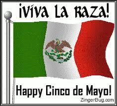 Memes 5 De Mayo - viva la raza cinco de mayo flag glitter graphic greeting comment