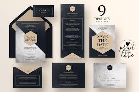 wedding invitation suite poly invitation templates creative