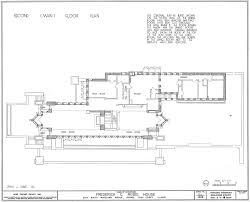 example of floor plan the best example of the prairie houses the robie house metalocus