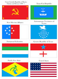 Flags Of Nations Flags Of Several Nations In An Alternate History Scenario I U0027ve