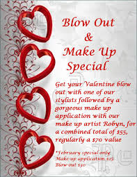 valentines specials s day special moss salon s