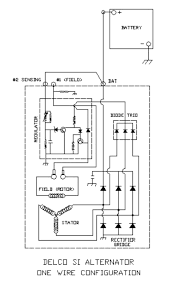 delco remy alternator wiring diagram 4 wire tamahuproject org