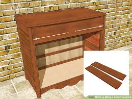 How To Build A Wood End Table by 3 Ways To Make A Fake Fireplace Wikihow