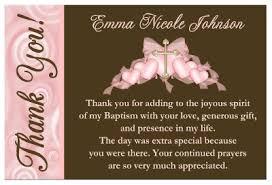 baptism thank you wording baptism christening thank you cards ebay