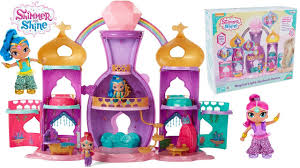 dolls that light up shimmer and shine magical light up genie palace dolls and giant