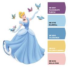 paint colors from colorsnap by sherwin williams cinderella