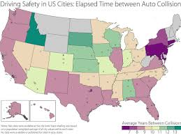 Map Of Mid Atlantic States by Map Here U0027s Where The Worst Drivers In America Are Business Insider