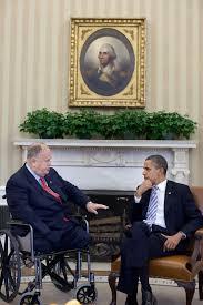 secretary cleland shares details with president obama on vietnam