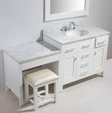 makeup vanity with sink keywest makeup vanity cabinet sink with double area idea 18
