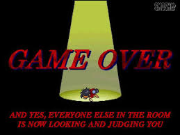 Game Over Meme - 20 rejected game over screens smosh