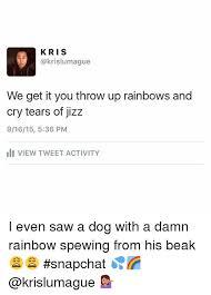 Throwing Up Rainbows Meme - 25 best memes about throwing up rainbows throwing up rainbows