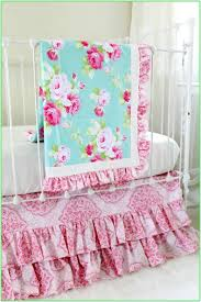 shabby chic crib bedding sets the best of bed and bath ideas