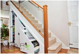 Unique Storage Design The Under Stairs Storage Effectively To Maximize The Looks