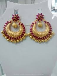 pics of gold earrings 330 best earrings collections images on south india