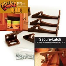 Kitchen Cabinet Door Latches Quakehold 4250 Secure Latch Cabinet Door Latch Cabinet And