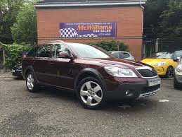 used skoda octavia estate 2 0 tdi cr scout 5dr in craigavon