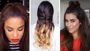 hair up styles 2015 3 ways to wear half up half down hair without looking 12 years old