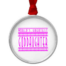 Goddaughter Christmas Ornaments Goddaughter Christmas Tree Decorations U0026 Baubles Zazzle Co Nz